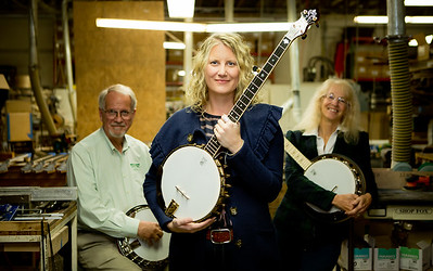Deering Banjo Company ~ Welcome CEO Jamie!