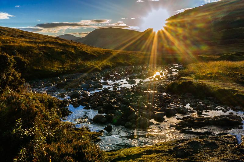 Sunset Over Glen Brittle