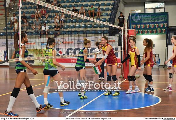 Lombardia - Veneto #Finale #Femminile #TDRVolley2016