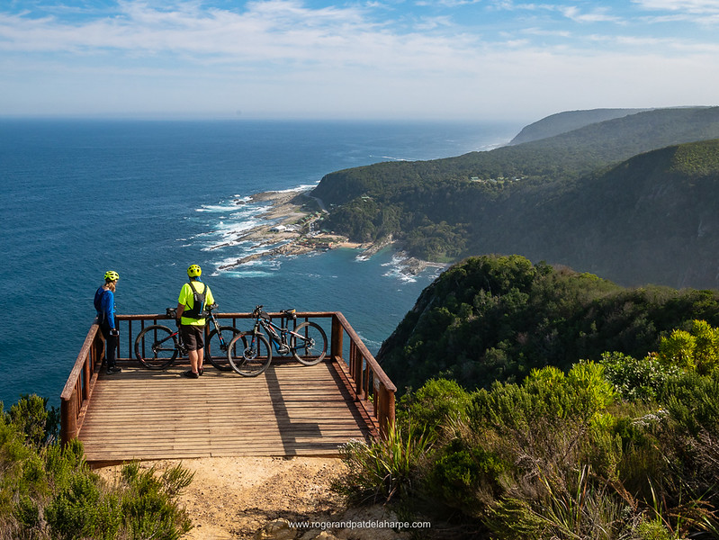 The ride is worth this view alone. That's Storms River mouth down there.