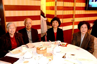 Lingnan Foundation lunch/dinner 2015