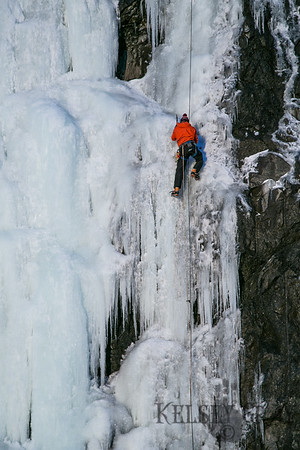 Seward Highway Ice Climbing 01/28/18