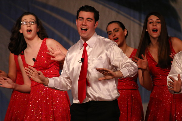 Holiday Concert Dec 18, 2014 at MTHS