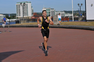 Cardiff Triathlon - Mens Sprint Run