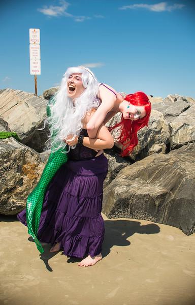 Jess & Lily - Little Mermaid & Ursula