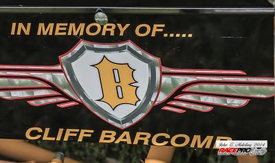 Cliff Barcomb Tribute Car - John Meloling