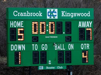 NDP vs Cranbrook