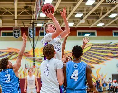 State Playoffs - Boys Basketball: Potomac vs Potomac Falls 3.1.2019 (by Al Shipman)