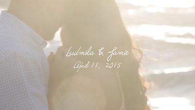 Ludmila and Jamie