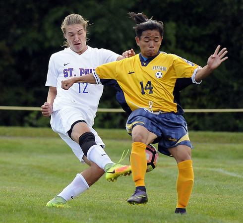 St Paul boys soccer 10-20