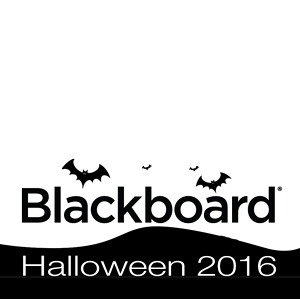 Blackboard Halloween Party 2016