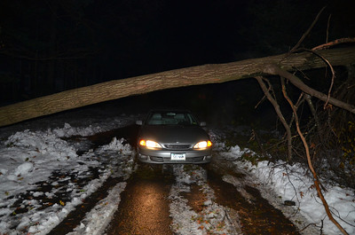 Snow Storm and Damage 10-30-11