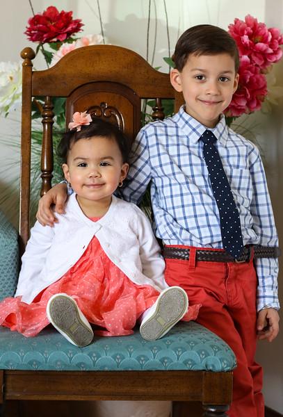 Sabastian & Celeste Easter 2015