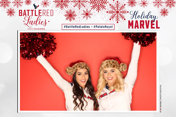 Battle Red Ladies Holiday Marvel 2019 - Photos