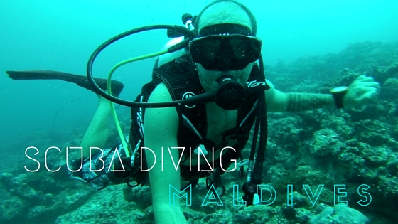 Scuba diving Maldives
