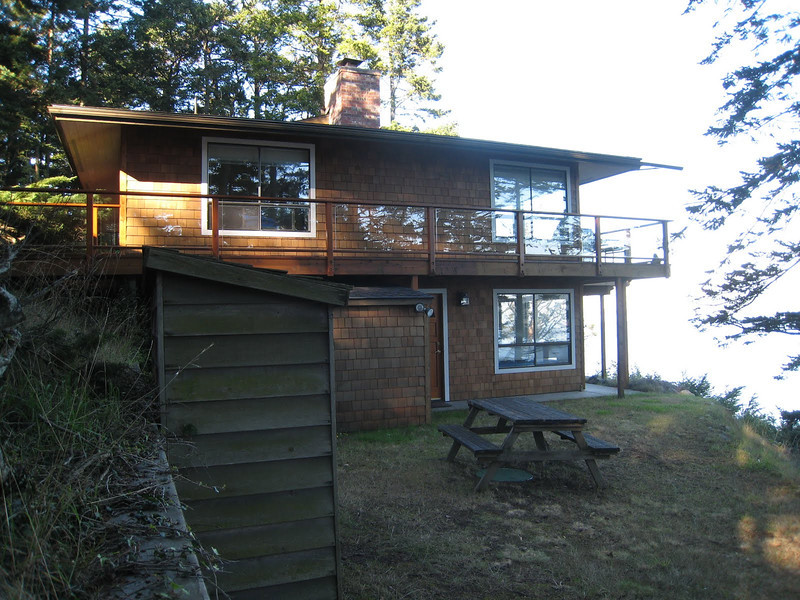 Robinson Cove house on San Juan Island