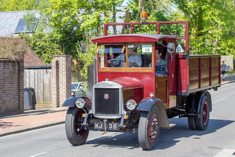 KJ636 1931 Dennis 2 Ton