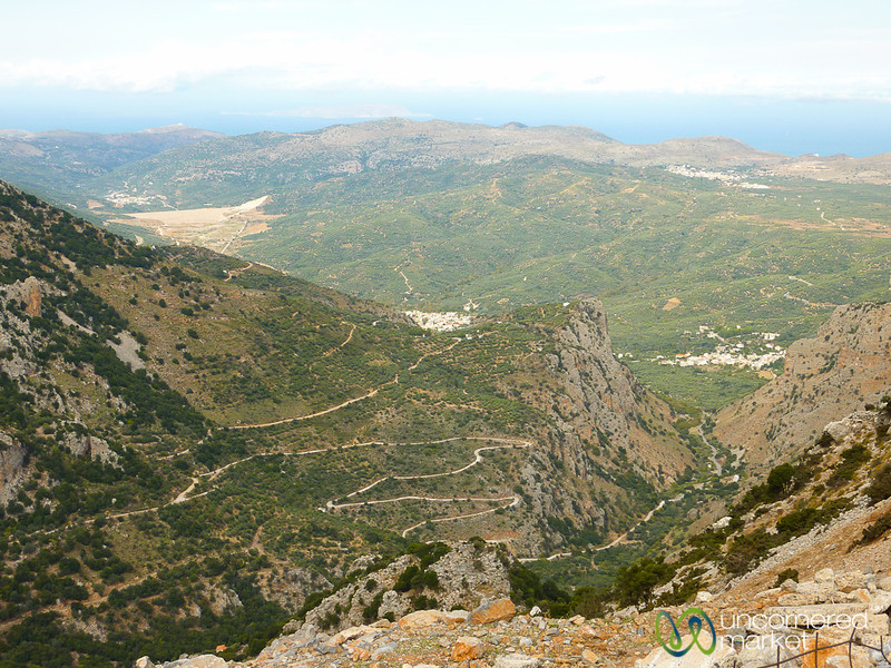 Crete Mountains and Landscape - Greece