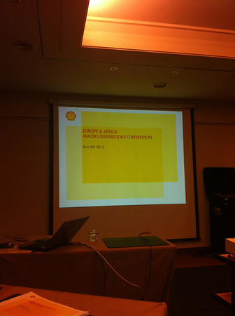 Shell macrodistributor award 2013