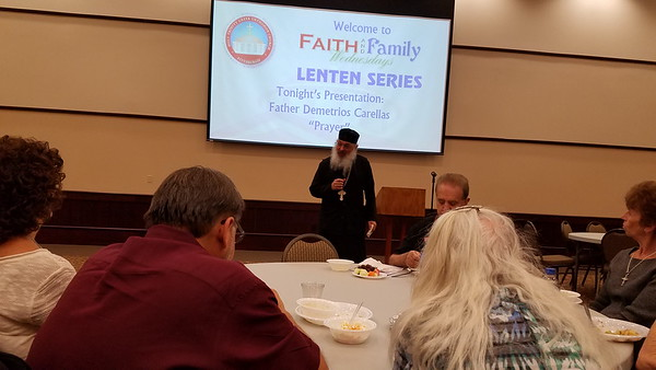 Faith and Family Wednesdays - Father Demetrios Carellas - April 13, 2016