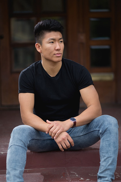 """6' 0""""   Shirt M/L   Pant 32   Shoe 11   175lbs Ethnicity: Chinese Skills: Handsome Chinese Actor, Violin Player, Fluent Mandarin, Competitive Baseball player, Masters student in Global Medicine"""