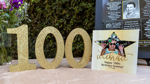 Kay's 100th Birthday Party
