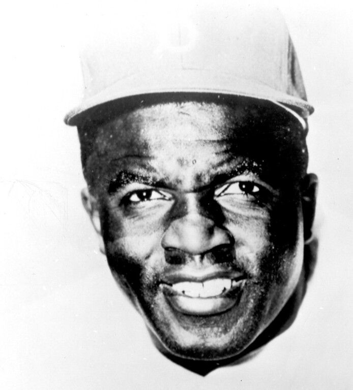. Jackie Robinson. (Los Angeles Daily News file photo)