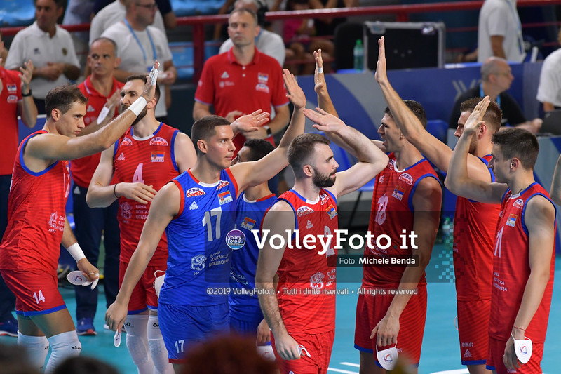 ITALIA vs SERBIA, 2019 FIVB Intercontinental Olympic Qualification Tournament - Men's Pool C IT, 11 agosto 2019. Foto: Michele Benda per VolleyFoto.it [riferimento file: 2019-08-11/ND5_6782]