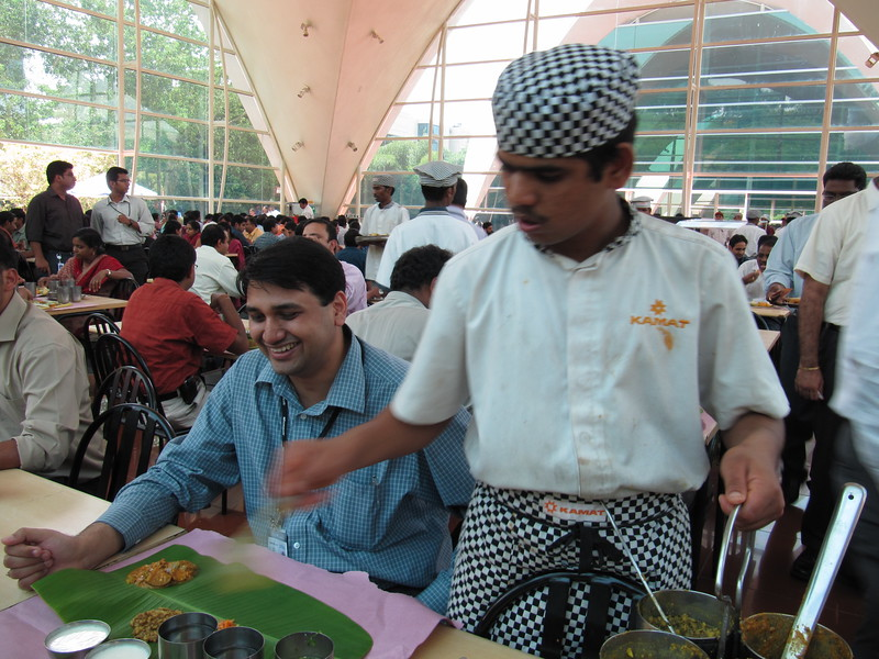 Lunch at Infosys
