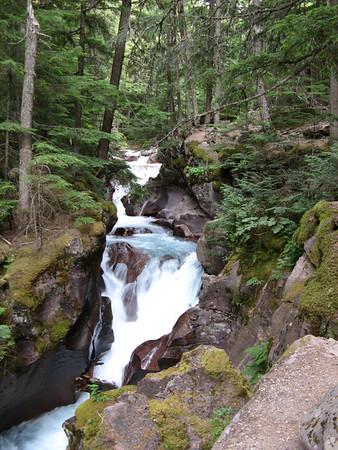 Glacier NP - Avalanche Creek/Lake hike