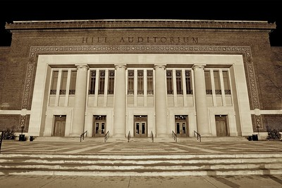 """Hill Auditorium"""