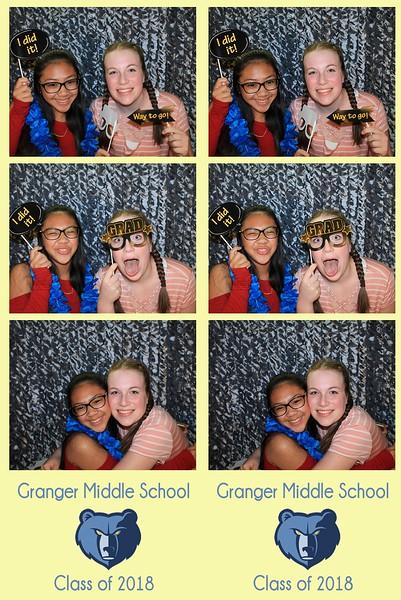 "Granger Middle School ""Class of 2018"""