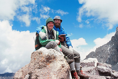 Mt Kenya Traverse