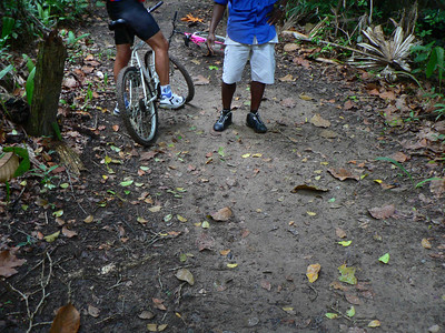 Forest ride in Belize 2005
