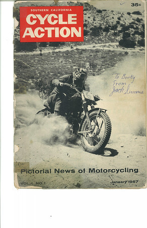 1957 January - So. Ca. Cycle Action