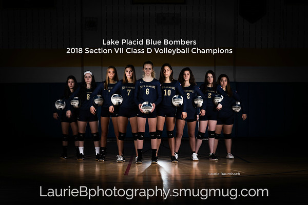 2018 Varsity Volleyball Section Champions