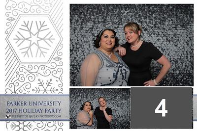 Parker University Holiday Party - December 1, 2017