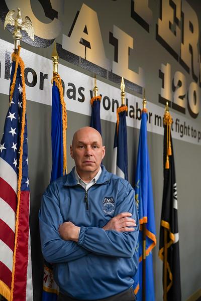 Tom Erickson Local 120 Teamsters President