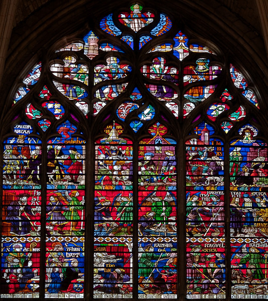 Troyes Saint Peter and Saint Paul Cathedral, Tobias and the Angel Window