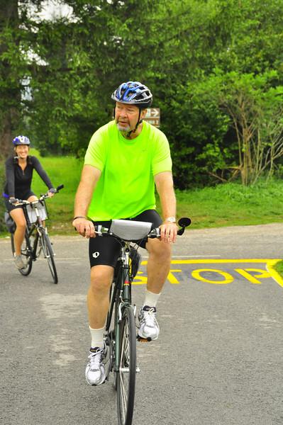 Steve, back on the right bike for the thirty miler