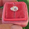 2.13ct Antique Pear Shape Diamond, GIA I, VS2 26
