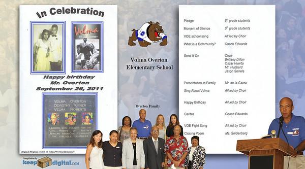 Volma Overton BDay Cele 2011