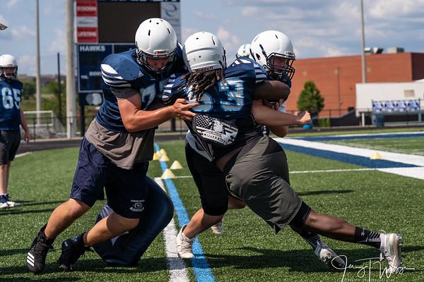7-24-19 HVA Football Practice