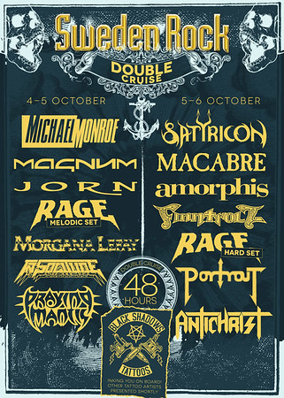 SATYRICON - Sweden Rock Double Cruise 5/10 2012