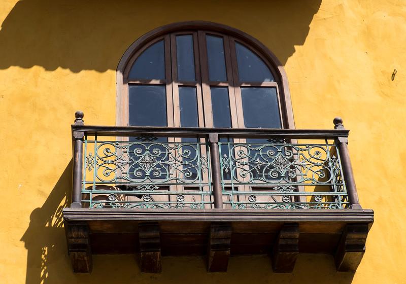 Cartagena Columbia Balcony