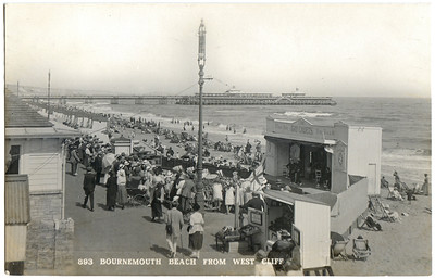 Old seaside postcards