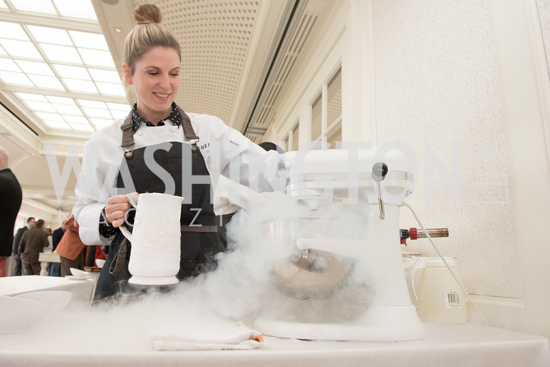 Chef Casey Thompson, WHCD Weekend, Thomson Reuters Brunch, Hay Adams, Apri 29, 2018. Photo by Ben Droz.