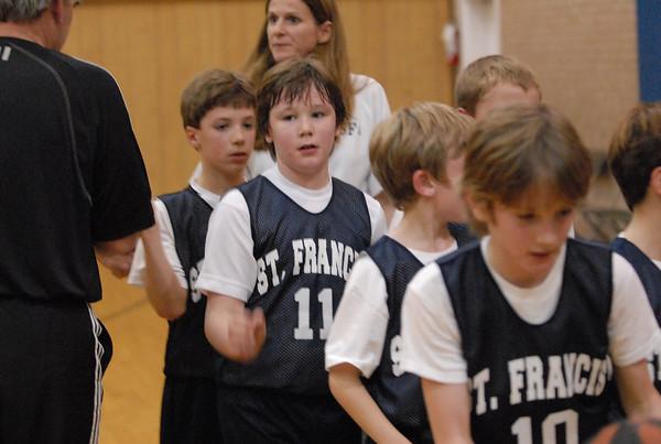 SF Basketball - 3rd Grade 1/12/08