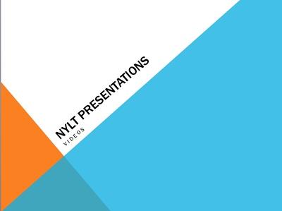 NYLT Presentations