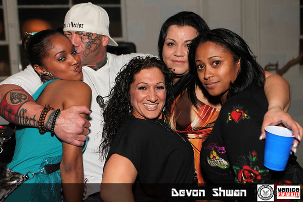 """01.15.11  MMA Fighter and cast member of the new reality series """"The Collective"""" Devon Schwan celebrates his birthday big in the valley!"""